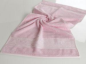 Полотенце Karna Pandora-1 70х140 см, светло-розовое