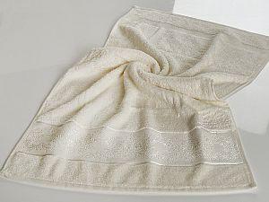 Полотенце Karna Pandora-2 70х140 см, кремовое