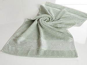 Полотенце Karna Pandora-2 70х140 см, изумруд