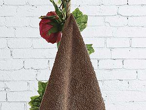 Полотенце Karna Dora 70х140 см, коричневое