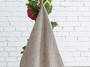 Полотенце Karna Lauren 70х140 см, бежевое