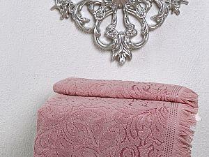 Полотенце Karna Esra 70х140 см, розовое