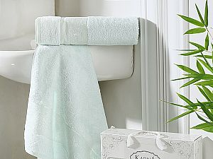 Комплект полотенец Karna Pandora, ментол