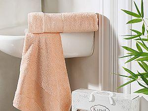 Комплект полотенец Karna Pandora, абрикосовый