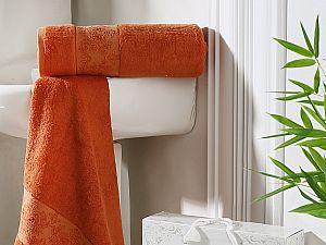 Комплект полотенец Karna Pandora, кирпичный