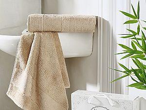 Комплект полотенец Karna Pandora, кофейный