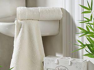 Комплект полотенец Karna Pandora, кремовый