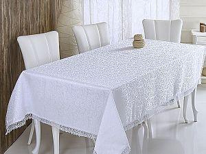 Скатерть Verolli Kdk 160х220 см, белая