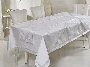 Скатерть Verolli ED023 160х220 см, с салфетками