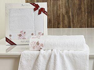 Комплект полотенец Lucente Sura, белый