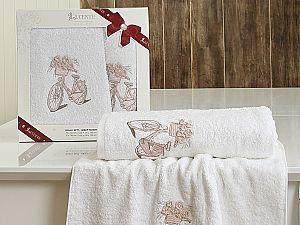 Комплект полотенец Lucente Elen, белый
