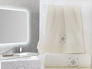 Комплект полотенец Karna Seher, кремовый арт. 2350/char004