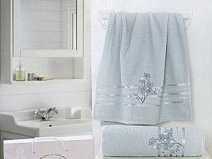 Комплект полотенец Karna Papilon, ментол арт. 2353/char002