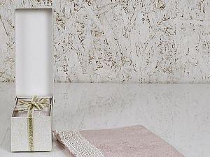 Полотенце Altinbasak Sveta 70х140 см, розовое