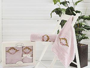 Комплект полотенец Karna Karen, светло-сиреневый