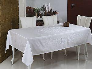 Скатерть Monalit Linen 160х220 см, белый