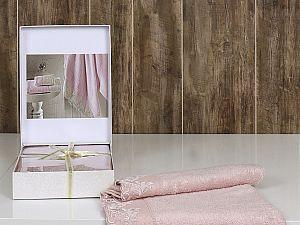 Полотенце Altinbasak Kleopatra 70х140 см, розовое