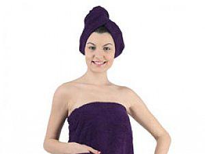 Набор для сауны Karna Paris, фиолетовый