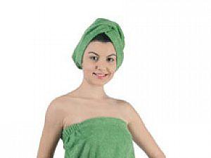 Набор для сауны Karna Paris, зеленый