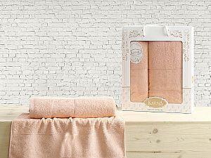 Комплект полотенец Karna Diana, абрикосовый
