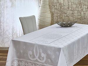 Скатерть Monalit Pano Cascade 160х220 см, белая