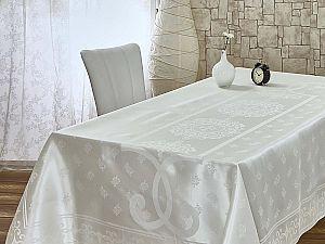 Скатерть Monalit Pano Cascade 160х220 см, кремовая
