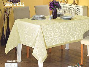 Скатерть Monalit Sheritli 160х220 см, золотистая