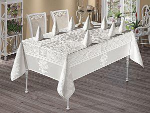 Скатерть Monalit Vipcoton Set 160х220 см, белая