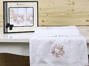Комплект полотенец Lucente Corona, белый