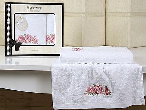 Комплект полотенец Lucente Riso, белый