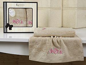 Комплект полотенец Lucente Riso, бежевый