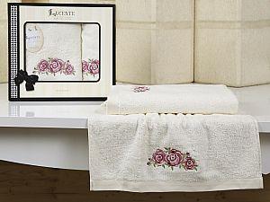 Комплект полотенец Lucente Riso, кремовый