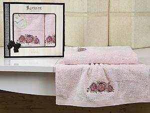Комплект полотенец Lucente Riso, розовый