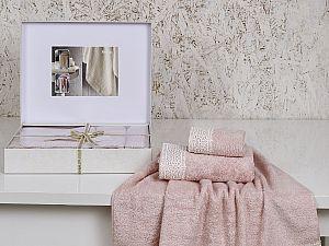 Комплект полотенец Altinbasak Sveta, розовый