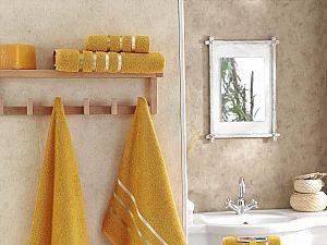 Комплект полотенец Karna Bale, темно-желтый