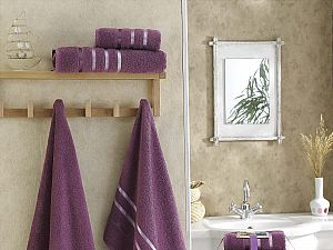 Комплект полотенец Karna Bale, светло-лаванда