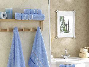 Комплект полотенец Karna Bale, голубой