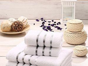 Комплект полотенец Karna Bale, белый