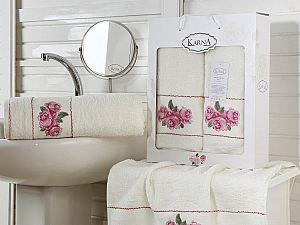 Комплект полотенец Karna Havin, кремовый