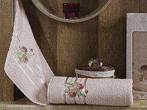Комплект полотенец Karna Rosen, светло-абрикосовый арт. 2356/char003