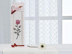 Полотенце Karna Hevin 40х60 см, кремовое