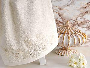 Полотенце Irya Coll 70х140 см, молочное