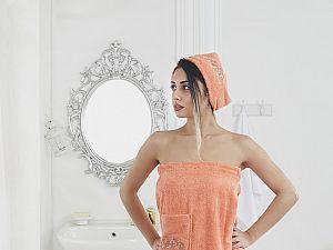 Набор для сауны Karna Pera, оранжевый