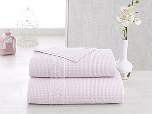 Полотенце Karna Truva 50х100 см, светло-розовое