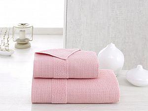Полотенце Karna Truva 90х150 см, розовое