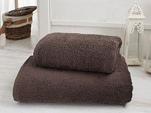 Полотенце Karna Efes 50х100 см, коричневое