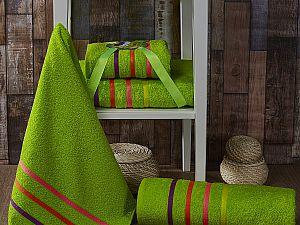 Комплект полотенец Karna Bale Neon, зеленый арт. 967/char006