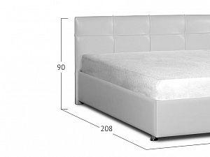 Кровать Moon Trade Птичье гнездо Модель 381 Марципан с подъемным механизмом