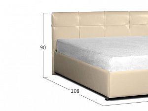 Кровать Moon Trade Птичье гнездо Модель 381 Суфле с подъемным механизмом