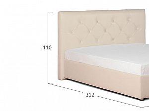 Кровать Moon Trade Монблан Модель 383 Суфле с подъемным механизмом